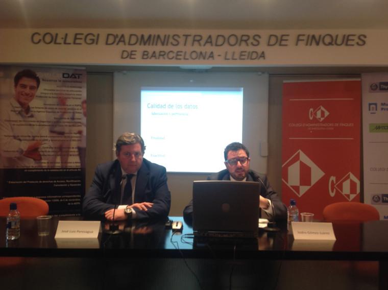 Segunda edici n conferencia colegio administradores de fincas de barcelona lleida audidat - Colegio de administradores de fincas barcelona ...